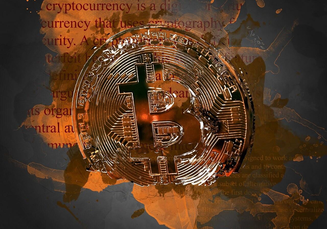 Neue Welt von geld ist der bitcoin